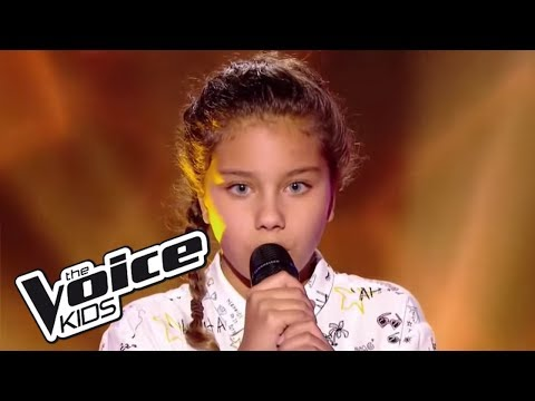 Dernière danse - Indila | Ilyana | The Voice Kids France 2017 | Blind Audition