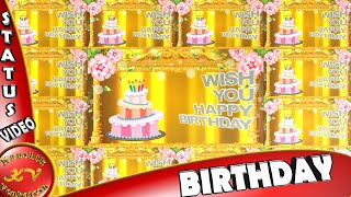 Birthday Wishes for a Friend,Happy Birthday Animation,Quotes,Greetings,Images,Whatsapp Video