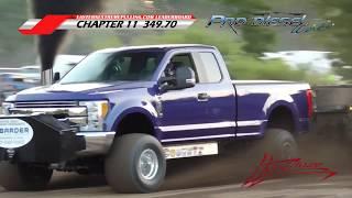 Pro Stock Diesel Truck Pulling from Pocomoke City, MD 6/22/2019