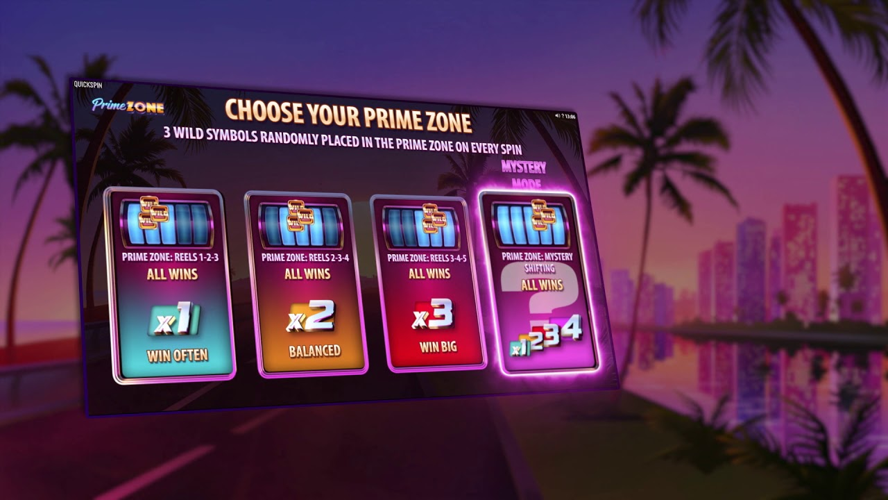 Prime Zone från Quickspin