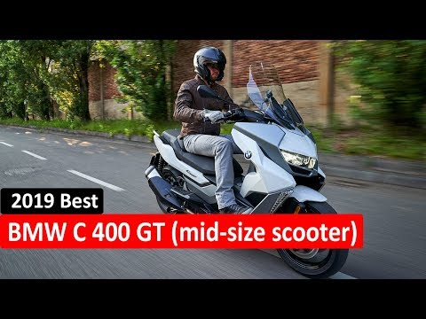 2019 New BMW C 400 GT – 2019 BMW Mid-Size Scooter