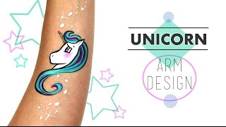Unicorn Arm Design | Ashlea Henson