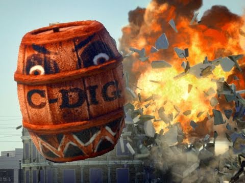 Exploding Barrels Have Their Revenge, Angry Birds Style