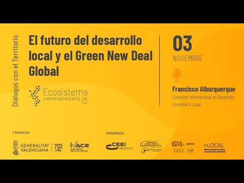 El futuro del desarrollo local y el Green New Deal Global[;;;][;;;]