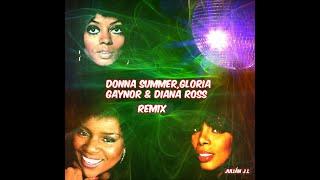 Donna Summer,Gloria Gaynor & Diana Ross