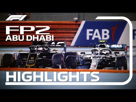 【F1 FP2ハイライト動画】F1 2019 第21戦アブダビGP フリープラクティス2