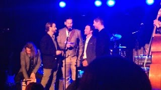 """SPN 200th Episode LA Party   Performance Of """"Carry On My Wayward Son"""""""