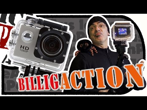 Preiswerte ACTiONCAM (CS710) - Was kann ne 30 Euro Cam? - 120Grad 12MP/HD/DVR  (Unboxing/Test)