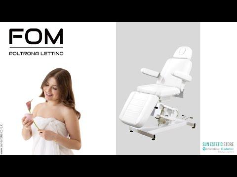 FOM Poltrona lettino elettrica 1 motore