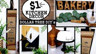 DOLLAR TREE DIYS   MODERN KITCHEN DECOR IDEAS 2020   $1 KITCHEN DIYS