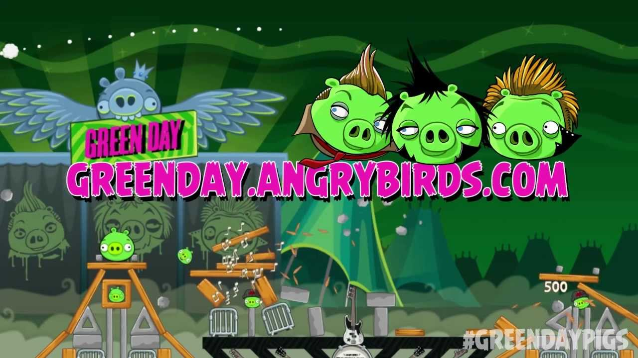 Green Day And Angry Birds: The Most Awkward Pairing In Video Game History
