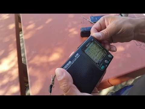 RADIO ONDA CORTA TECSUN R-909 Y VOYAGER V1