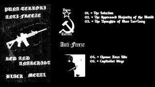 AntiFreeze & PunaTerrori - Red and Anarchist Black Metal (split)