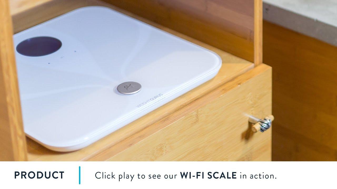 WiFi Smart Bodyfat Bathroom Scale video thumbnail