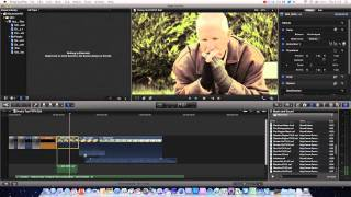 Final Cut Pro X Basics Tutorial Pt. 5 - Working With Audio