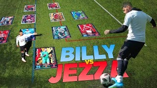 BILLY WINGROVE VS JEREMY LYNCH INSANE GIANT CARD MATCH ATTAX SPECIAL!