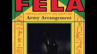 Fela Kuti   Army Arrangement