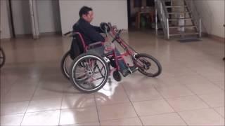 Silla de Ruedas a Pedal
