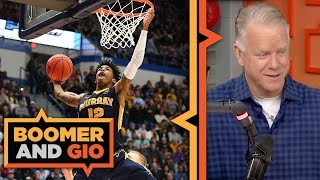 JA Morant will be the SECOND OVERALL pick in the NBA Draft | Boomer and Gio