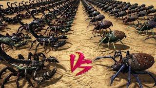 Pulmonoscorpius vs Araneo || Ark Battle - YouTube