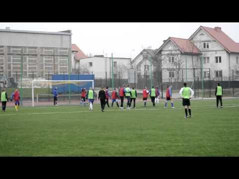 Mateusz Kozoń strzelił bramkę w testemczu Stomilu Olsztyn