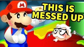 A Mario Flash Game that tried to BRAINWASH us | PETA MARIO GAMES PART 1 - dooclip.me