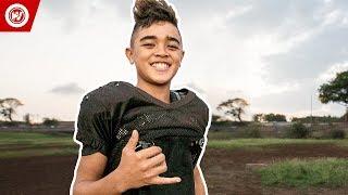 Download Youtube: 11-Year-Old College Football Scholarship | Titan Lacaden