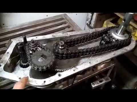 Редуктор мотоблока НЕВА, ремонт