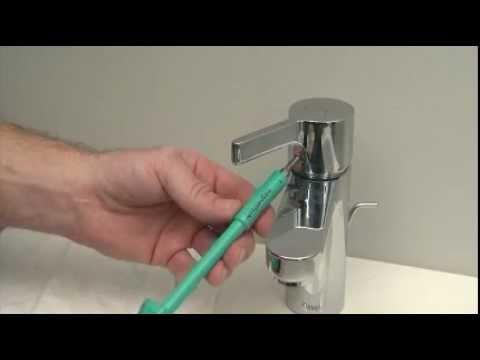 Hansgrohe Technik: Einstellen der Warmwasserbegrenzung bei Armaturen