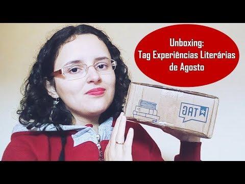 UNBOXING: TAG EXPERIÊNCIAS LITERÁRIAS DE AGOSTO + CÓDIGO PARA CONSEGUIR VALE