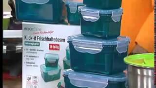 Klick-it Frischhaltedosen - Produktpräsentation Michael Horn
