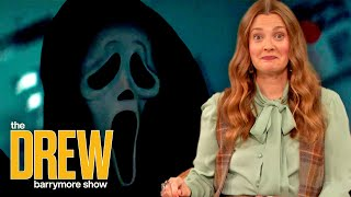 Drew Shares a First Look at Scream 5   Drew's News