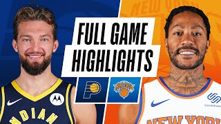 PACERS at KNICKS | FULL GAME HIGHLIGHTS | February 27, 2021 by NBA