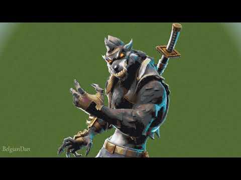 Minecraft: Pixel Art Tutorial: Dire The Werewolf (Fortnite