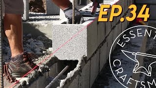 Laying Block Stemwalls EP.34