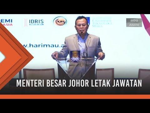Buletin AWANI Khas: Menteri Besar Johor letak jawatan
