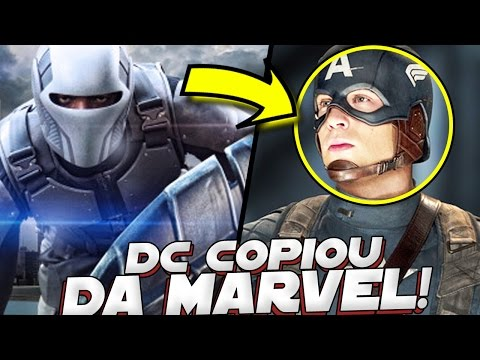 SUPER HEROIS QUE A DC COMICS COPIOU DA MARVEL