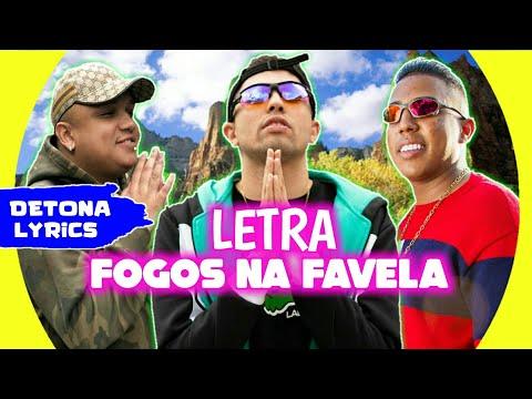 MC Marks, MC DR e MC Vinny - Fogos Na Favela - Deus Abençoe meu Dia (Letra Oficial)