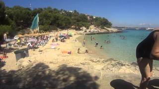 preview picture of video 'Playa de Mallorca Illetes'