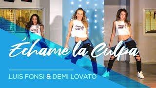 Échame La Culpa   Luis Fonsi   Demi Lovato   Easy Fitness Dance Choreography   Zumba   Coreografia