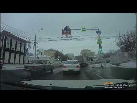 Ленина - Перенсона 15.11.2018 ЧП Красноярск онлайн видео