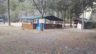 長野県バーベキュースポット二瀬キャンプ場