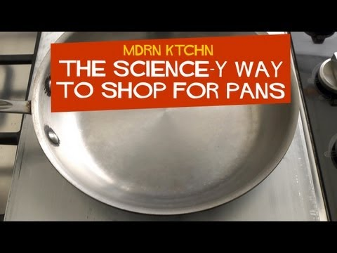 Use Science To Buy Better Cookware