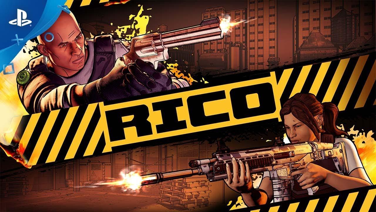 Vesti i panni di un poliziotto in Rico, uno sparatutto denso di azione a generazione procedurale in uscita domani