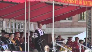 Arnold Schwarzenager's USC Commencement Speech 2009 Part 1