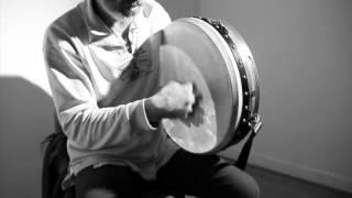 How to play Bodhran: 1. Basic Stroke: Rónán Ó Snodaigh