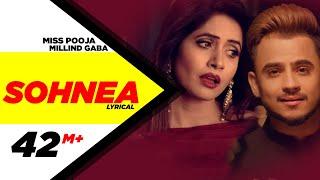 Sohnea ( Lyrical Video ) | Miss Pooja Feat. Millind Gaba | Punjabi Songs | Speed Records