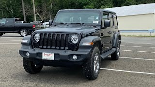 2020 Jeep Wrangler Unlimited Sport Review