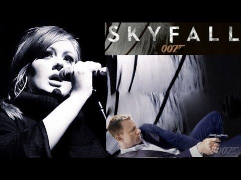 Skyfall - James Bond - Adele -  (Official Music Video) 2012 HD