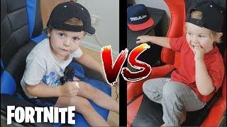 *2 YEAR OLD KID*  VS  *4 YEAR OLD KID* Fortnite Custom Game 1v1